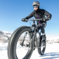 Snow Biking, Wyoming