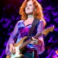 "Bonnie Raitt, Verizon Wireless Theater, Houston, TX 5-14-09Bad Cat 30r 112 amp, CS-3 compressor, '64 strat ""Brownie"" stock pickupsGuild acoustic '67 F-50"